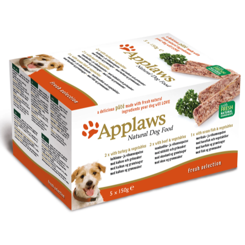 Applaws Pate Multipack Adult Dog Food 150g x 50 Fresh Selection