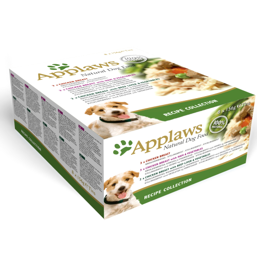 Applaws Recipe Collection Multipack Can Adult Dog Food 156g x 32