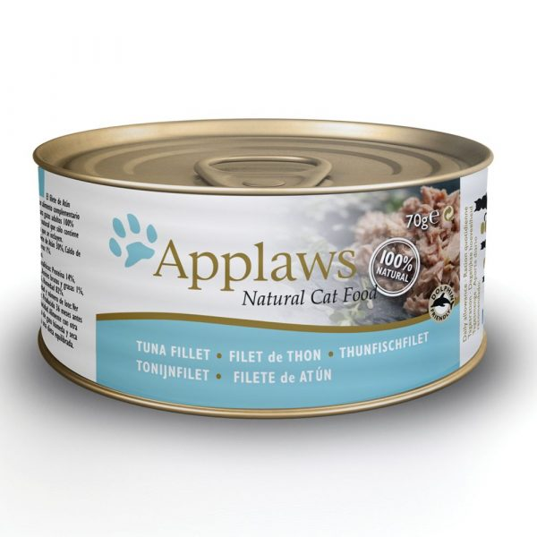 Applaws Tuna Fillet with Crab Wet Cat Food