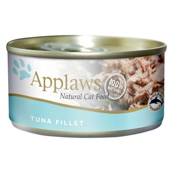 Applaws Tuna Fillet with Seaweed Wet Cat Food
