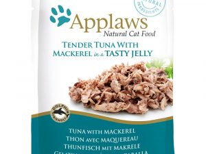 Tuna Pouches in Jelly Saver Pack Applaws Wet Cat Food