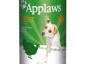 Applaws Turkey with Vegetables Wet Dog Food 400g x 24