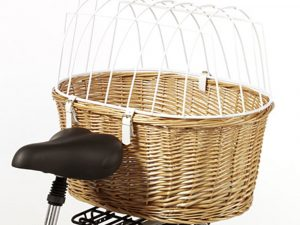 Aumuller Bicycle Dog Basket with Protective Wire