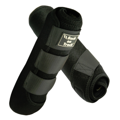 Back On Track Supreme Equine / Horse Exercise Boots - Black Small