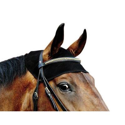 Back on Track Equine / Horse Head Cover - Black Small