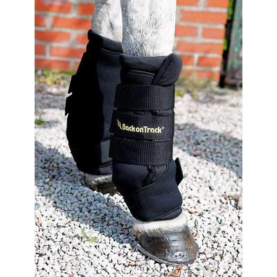 Back on Track Equine / Horse Royal Quick Wraps - Small Black