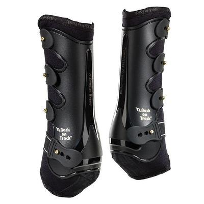 Back on Track Equine / Horse Royal Work Boots (Fore Leg) - Cob Black