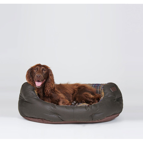 """Barbour Wax & Cotton Dog Bed 35"""""""