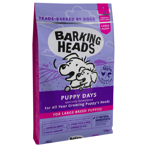 Barking Heads Large Breed Puppy Dog Food 12kg