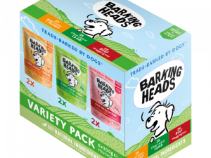 Barking Heads Variety Pack Wet Adult Dog Food - 24 x 300g