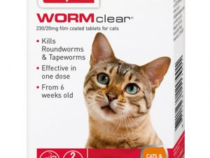 Beaphar WORMclear Cat Worming Tablets 2 tabs