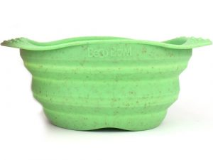 Beco Collapsible Travel Bowl Green - Medium