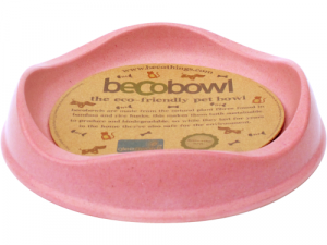 Becobowl Eco Friendly Cat & Puppy Bowl Pink