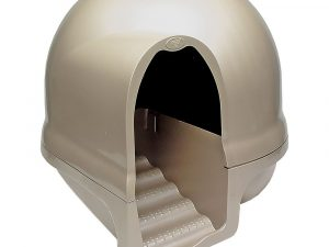 Booda Cappuccino Cleanstep Cat Litter Box with Filter