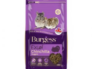 Burgess Excel Nuggets With Mint Chinchilla Food 1.5kg