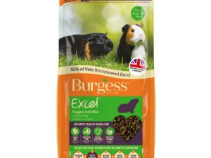 Burgess Excel Nuggets with Mint Guinea Pig Food 2kg