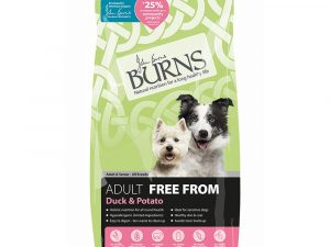 Duck & Potato Adult Free From Burns Dry Dog Food