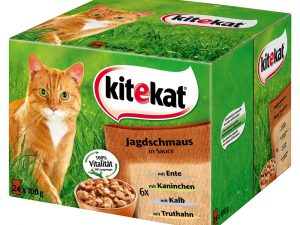 Butcher Mix in Jelly Kitekat Variety Pouches Wet Cat Food