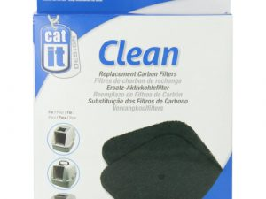 Catit Hooded Cat Litter Pan Replacement filter 2 Pack