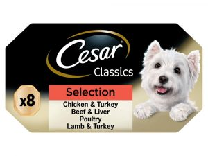 Classics Selection Slow Cooked Cesar Classic Wet Dog Food Adult Trays