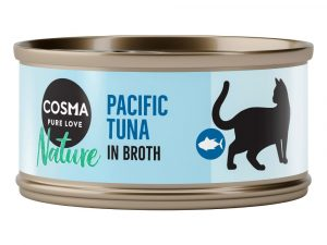 Mixed Pack Cosma Nature Wet Cat food
