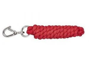 Cottage Craft Lead Rope for Horses Red