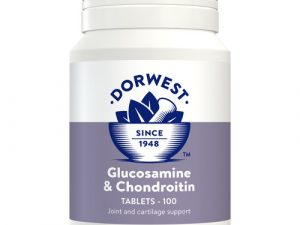 Dorwest Glucosamine & Chondroitin Tablets for Dogs & Cats 100 Tablets