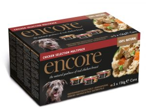 Chicken Selection Dog Tin Encore Wet Dog Food