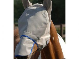 Equilibrium Field Relief Max Fly Mask in Grey & Blue Medium