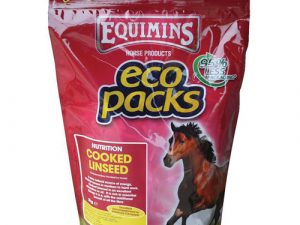 Equimins Cooked Linseed Eco Pack 3kg Eco Pack