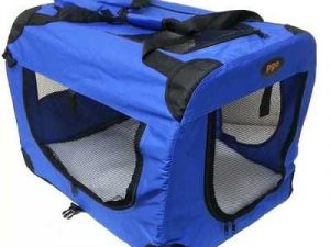 Fabric Crate Foldable Pet Carrier