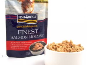 Fish4Dogs Salmon Mousse Adult Dog Food 100g x 48