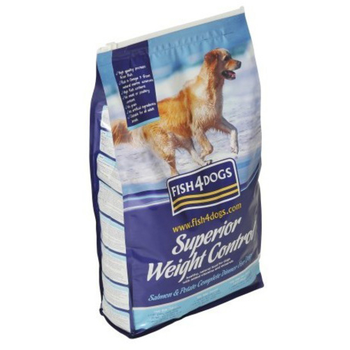 Fish4Dogs Superior Salmon Weight Control Adult Dog Food 1.5kg