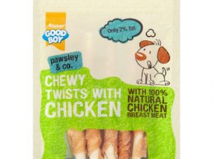 Good Boy Chewy Twists with Chicken Dog Treats 90g x 10 SAVER PACK