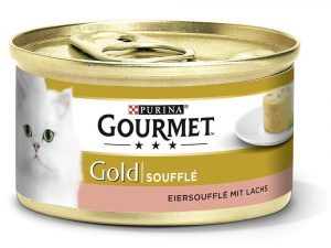 Salmon Souffle Selection Saver Pack Gourmet Gold Wet Cat Food