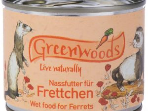 Greenwoods Wet Food for Ferrets Saver Pack - 24x200g