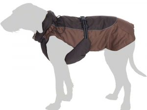 Grizzly II Dog Coat - Brown - 35cm Back Length