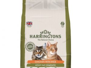 Harringtons Complete Chicken with Rice Dry Adult Cat Food 2kg