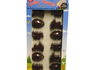 Hatchwells Carob Easter Shapes for Dogs 12 Shapes