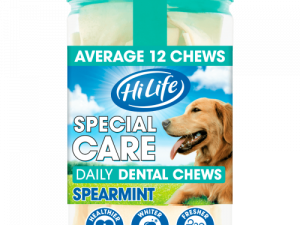HiLife Special Care Spearmint Adult Dog Chews 12 Chews x 3