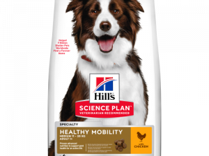Hills Science Plan Canine Adult Healthy Mobility Medium Chicken Dry Dog Food 12kg