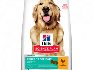 Hills Science Plan Canine Adult Perfect Weight Large Breed 12kg x 2