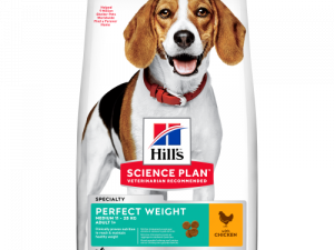 Hills Science Plan Canine Adult Perfect Weight Medium 12kg x 2