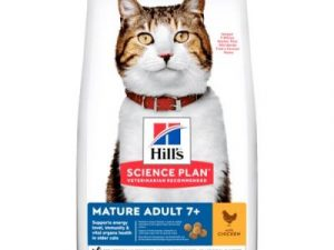 Chicken Mature Adult 7+ Hill's Science Plan Dry Cat Food
