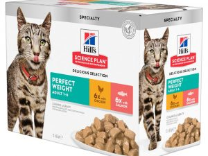 Perfect Weight Pouch Feline Hill's Science Plan Wet Cat Food