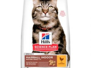 Mature 7+ Hairball Control Chicken Hill's Science Plan Dry Cat Food