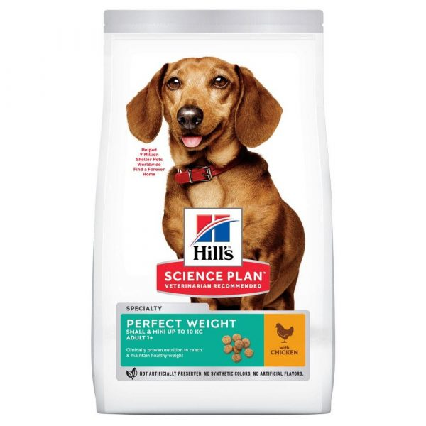 Hill's Science Plan Mini Adult Perfect Weight Dry Dog Food