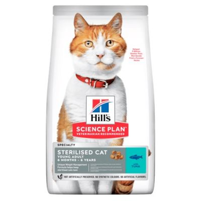 Hill's Science Plan Young Adult Sterilised Tuna Cat