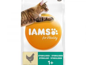 Chicken Light in Fat Adult for Vitality IAMS Dry Cat Food