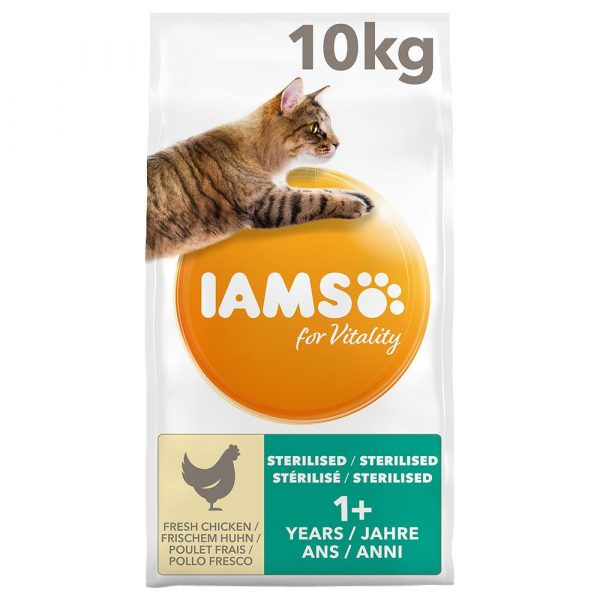 IAMS for Vitality Chicken Light in Fat Adult Dry Cat Food